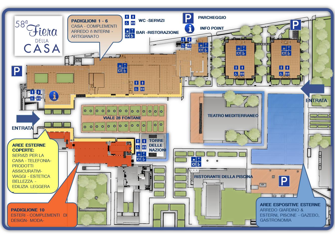 Fiera della casa 2015 for Programma della mappa della casa